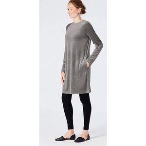 NWT J. Jill Gray Sweater Dress